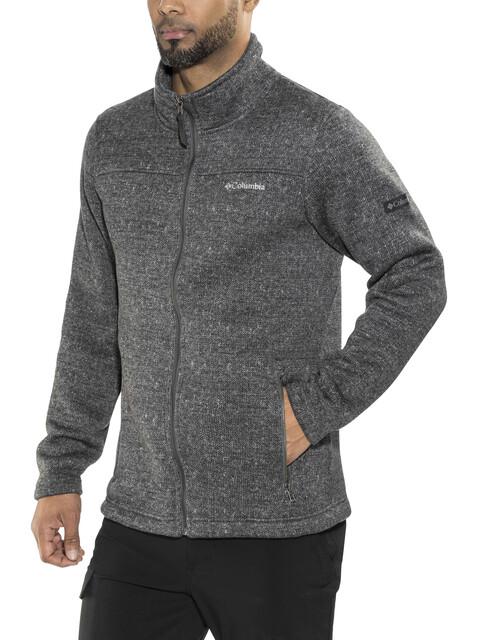 Columbia Boubioz Full Zip Fleece Jacket Men Graphite